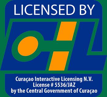 Сублицензия Curacao Interactive Licensing N.V. №5536/JAZ, от 7 ноября 2012 года.