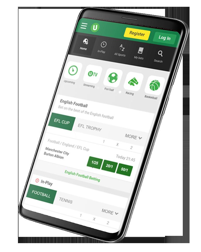 Приложения на Андроид БК Unibet