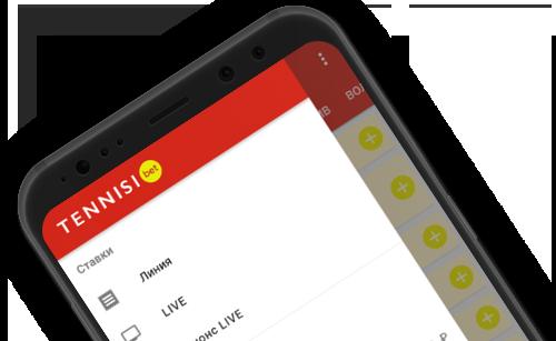 Мобильное приложение на Android в букмекерской конторе Tennisi