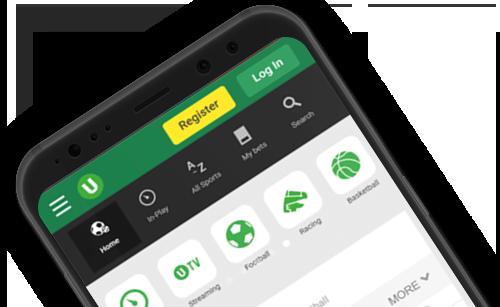 Мобильное приложение на Android в букмекерской конторе Unibet